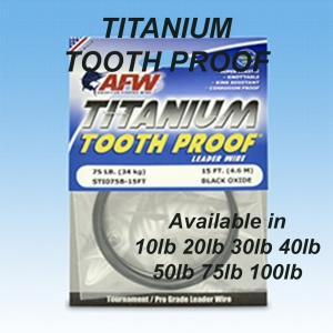 TITANIUM TOOTH PROOF