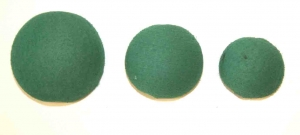 GREEN POZI FOAM BALLS