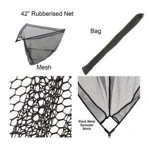 RUBBERISED LANDING NET