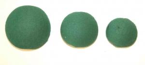GREEN POZI FOAM BALLS